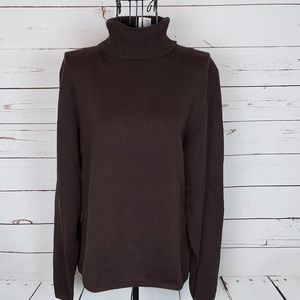 Talbots Long Sleeve Turtleneck Sweater Size L